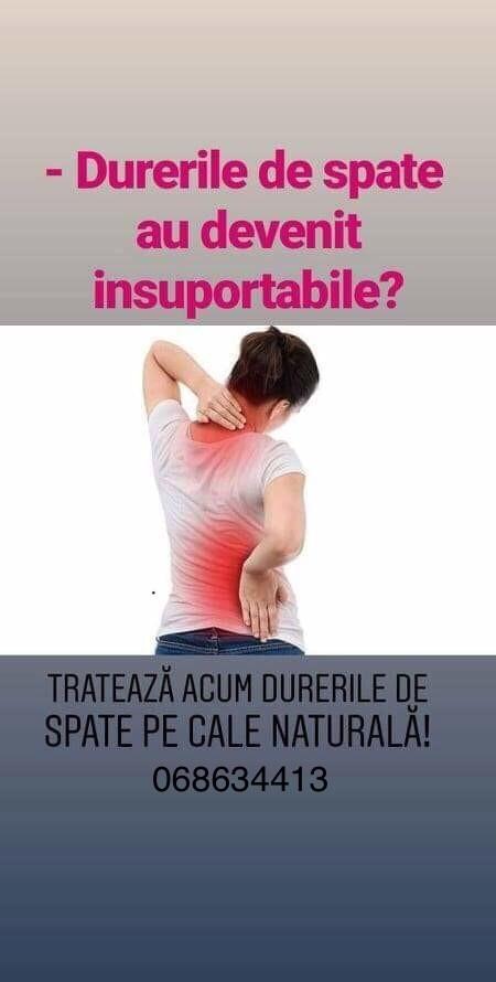 dureri de spate articulații crunch