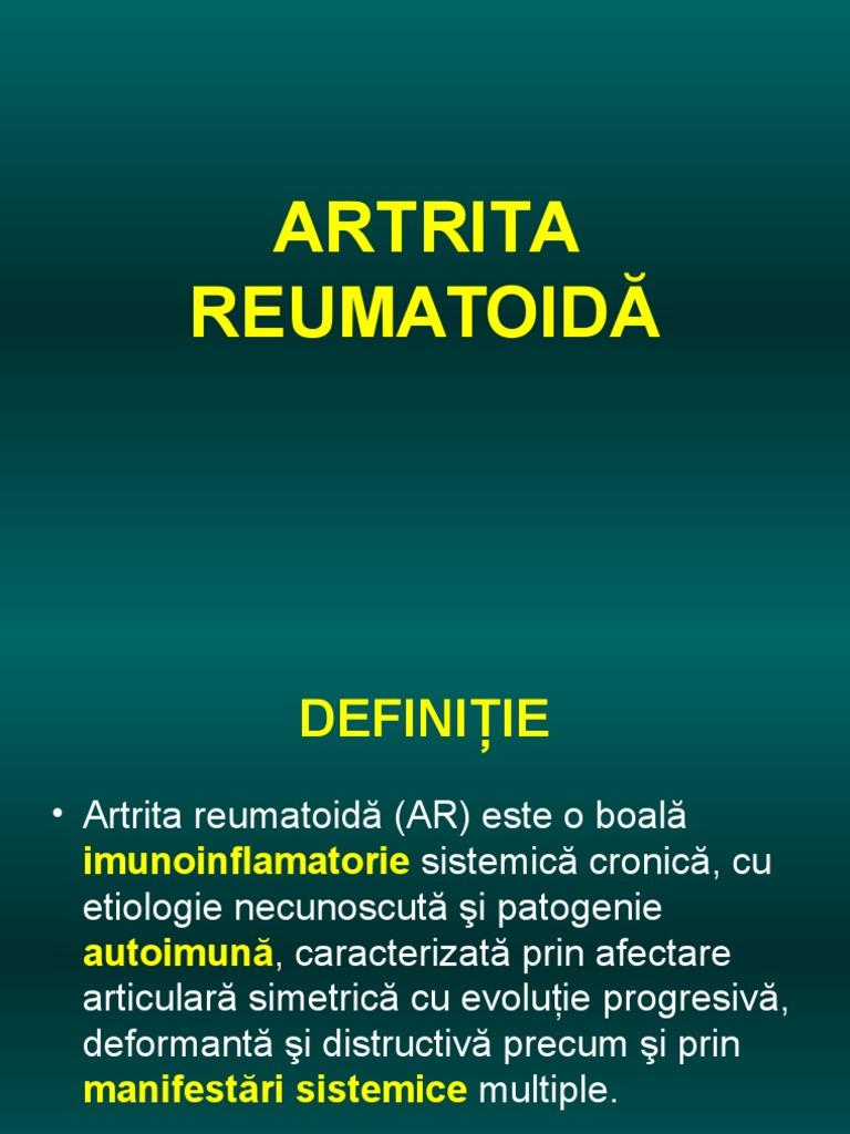 artrita deformantă articulară diagnosticul acut al durerii la cot