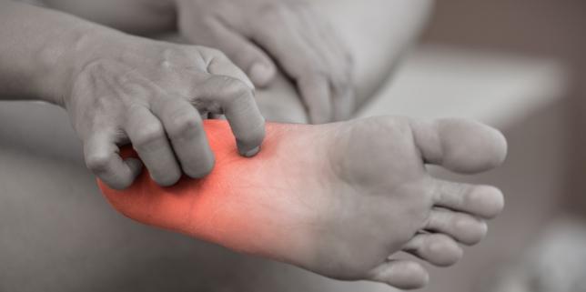 dureri articulare și mâncărimi la nivelul picioarelor