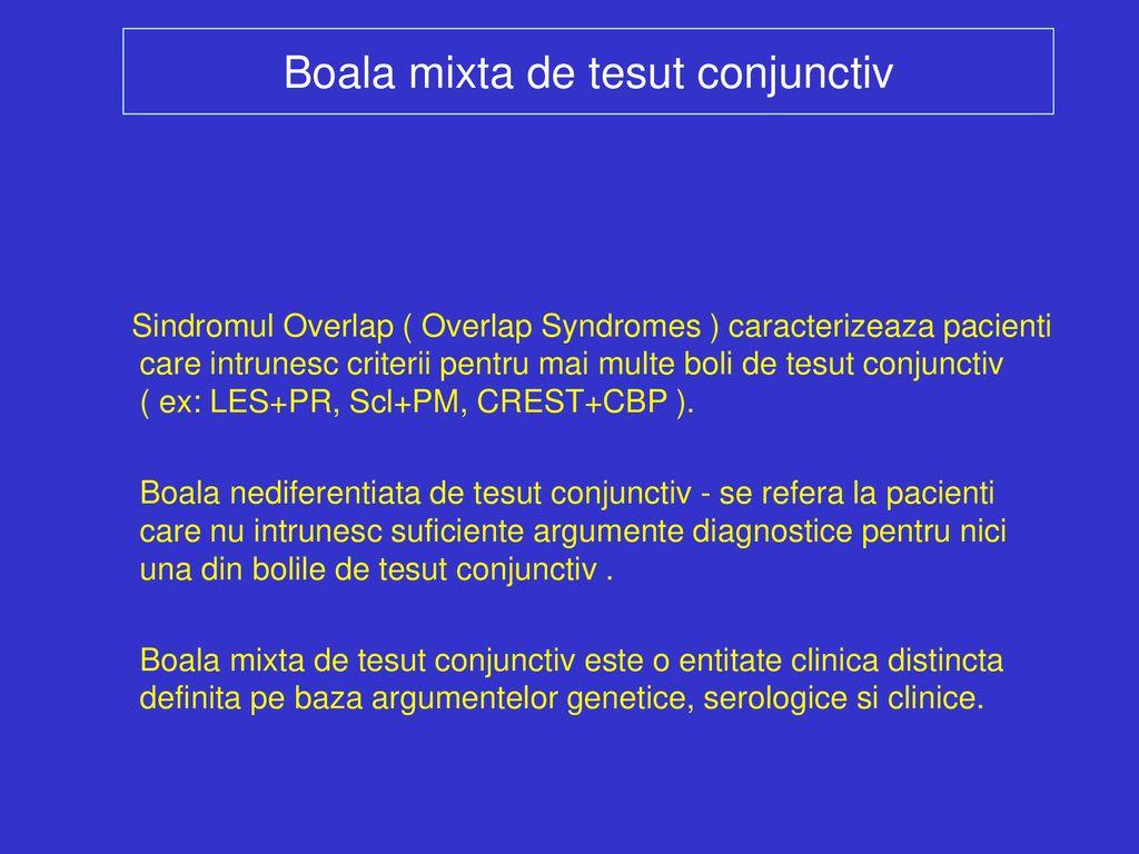boala inflamatorie a țesutului conjunctiv