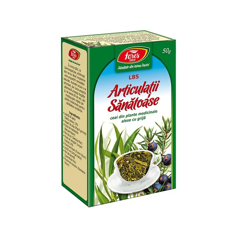 ceai pentru tratamentul articular