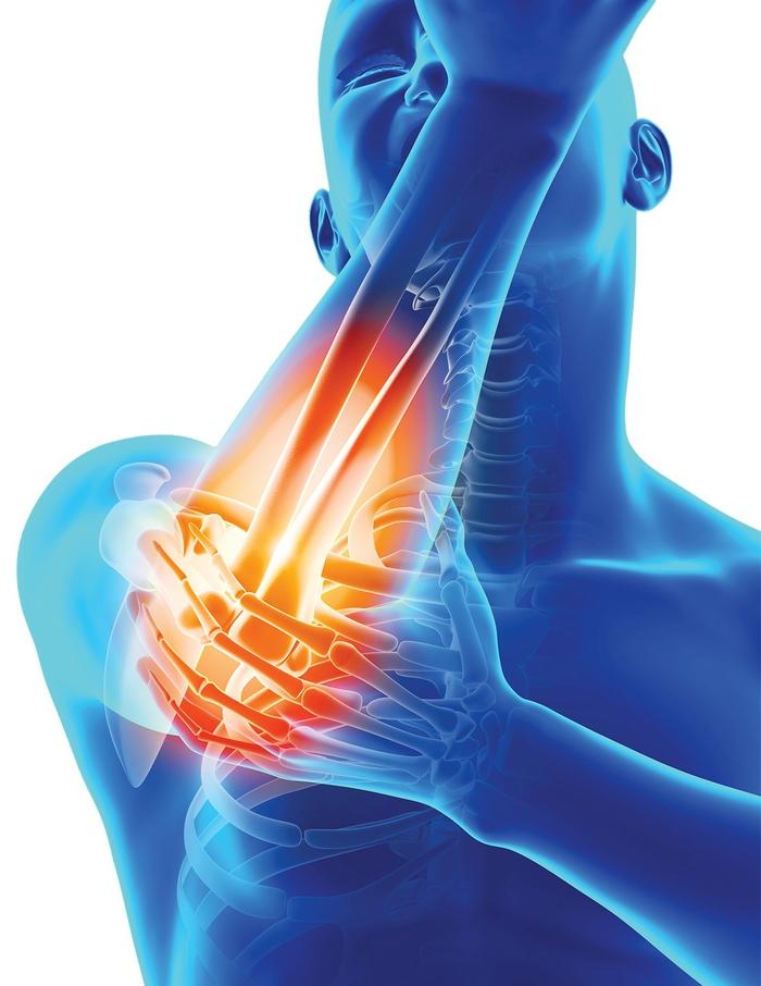 durere în articulațiile degetelor la hrănire