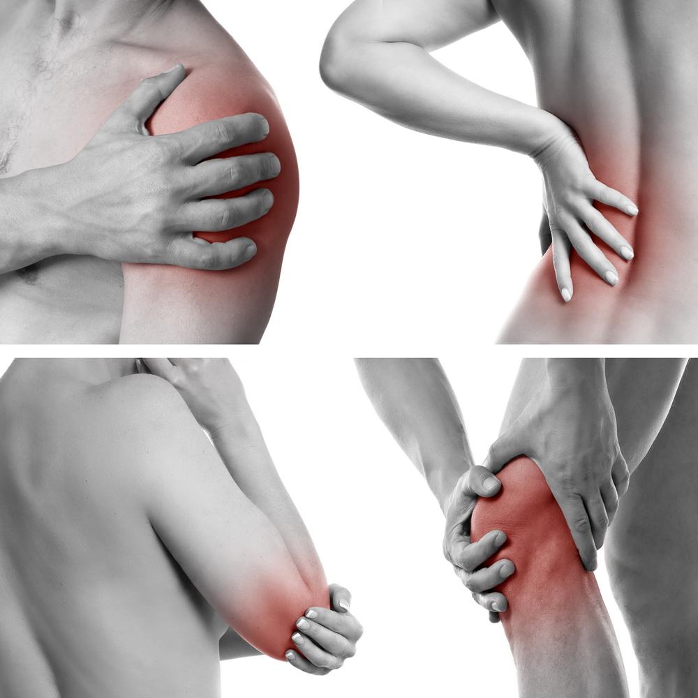 coloana vertebrală și articulațiile tratate