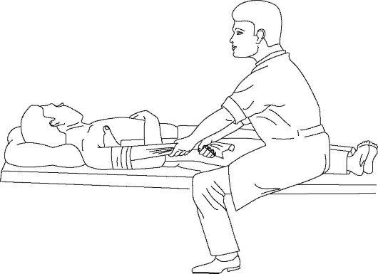 tratați o articulație pe braț