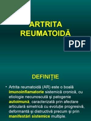 artrita deformantă articulară articulația degetului de la picior
