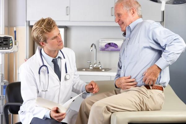 Durere în zona șoldului articulației stângi