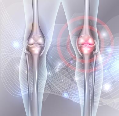 lichidul se acumulează în articulația genunchiului și durere