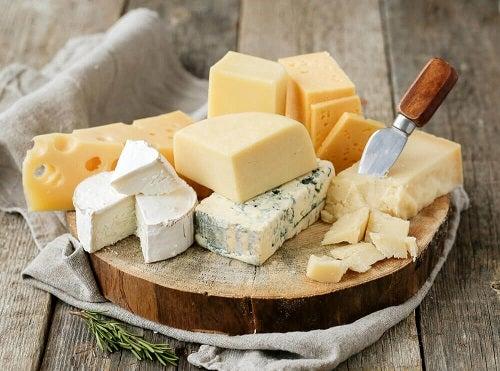 brânză pentru giardioză