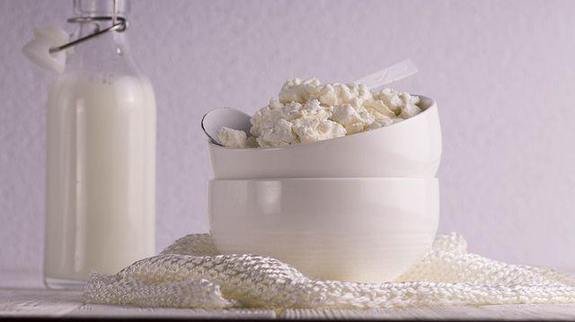Tratament cu brânză de vaci