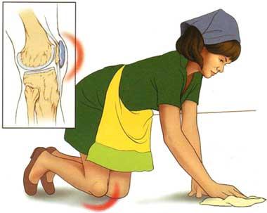 umflarea sub genunchi artroza deformată a tratamentului piciorului