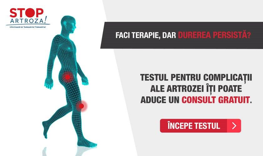 tratamentul articulațiilor artrozei de gradul I