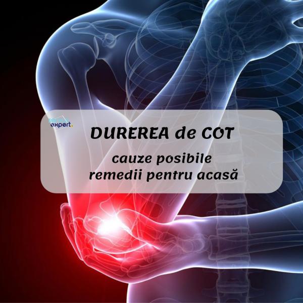 durere în tratamentul articulației cotului