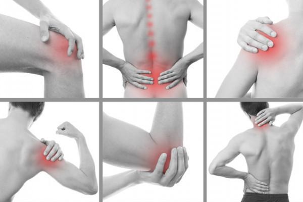 durere în oase și articulații cu gua