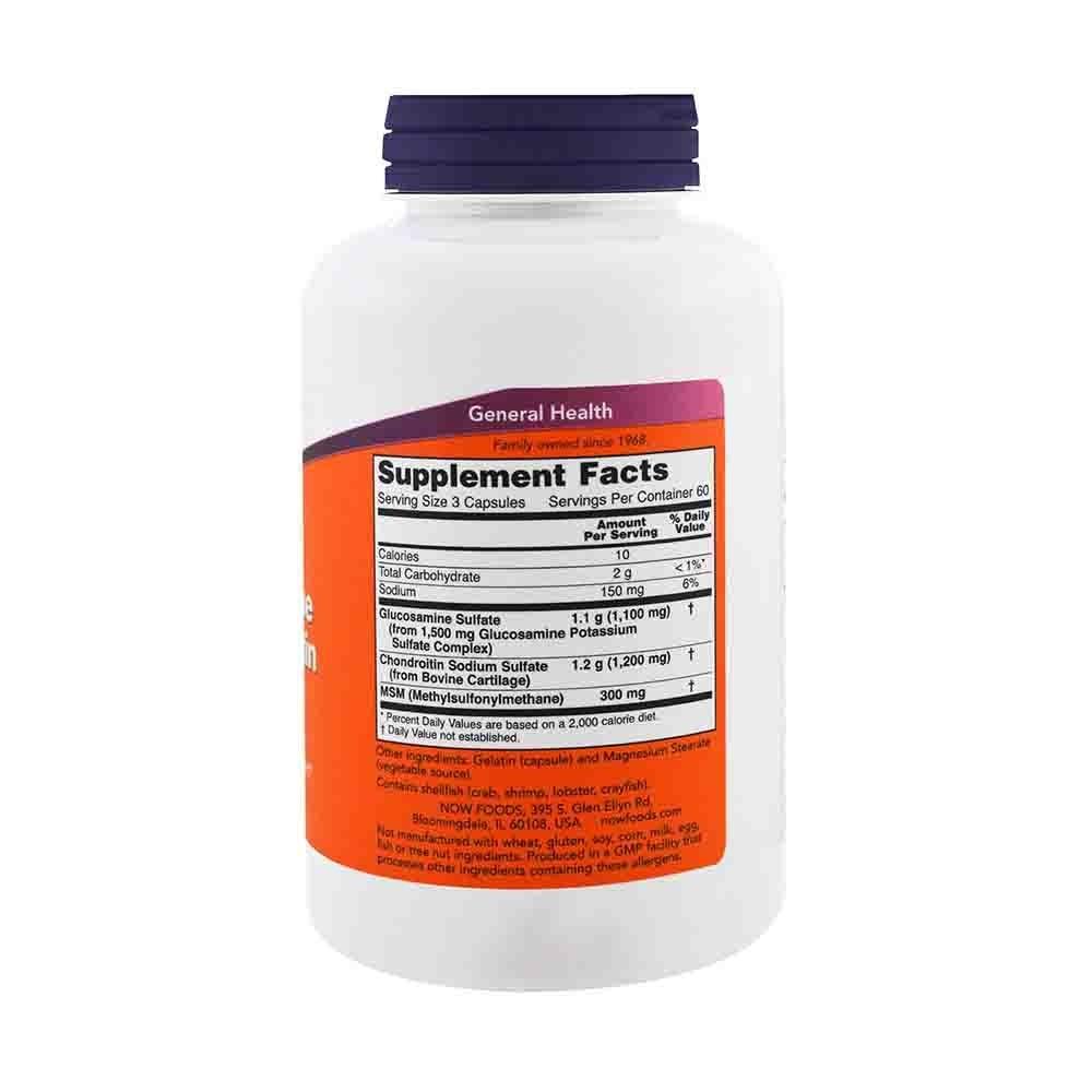 condroitină glucozamină și sulf