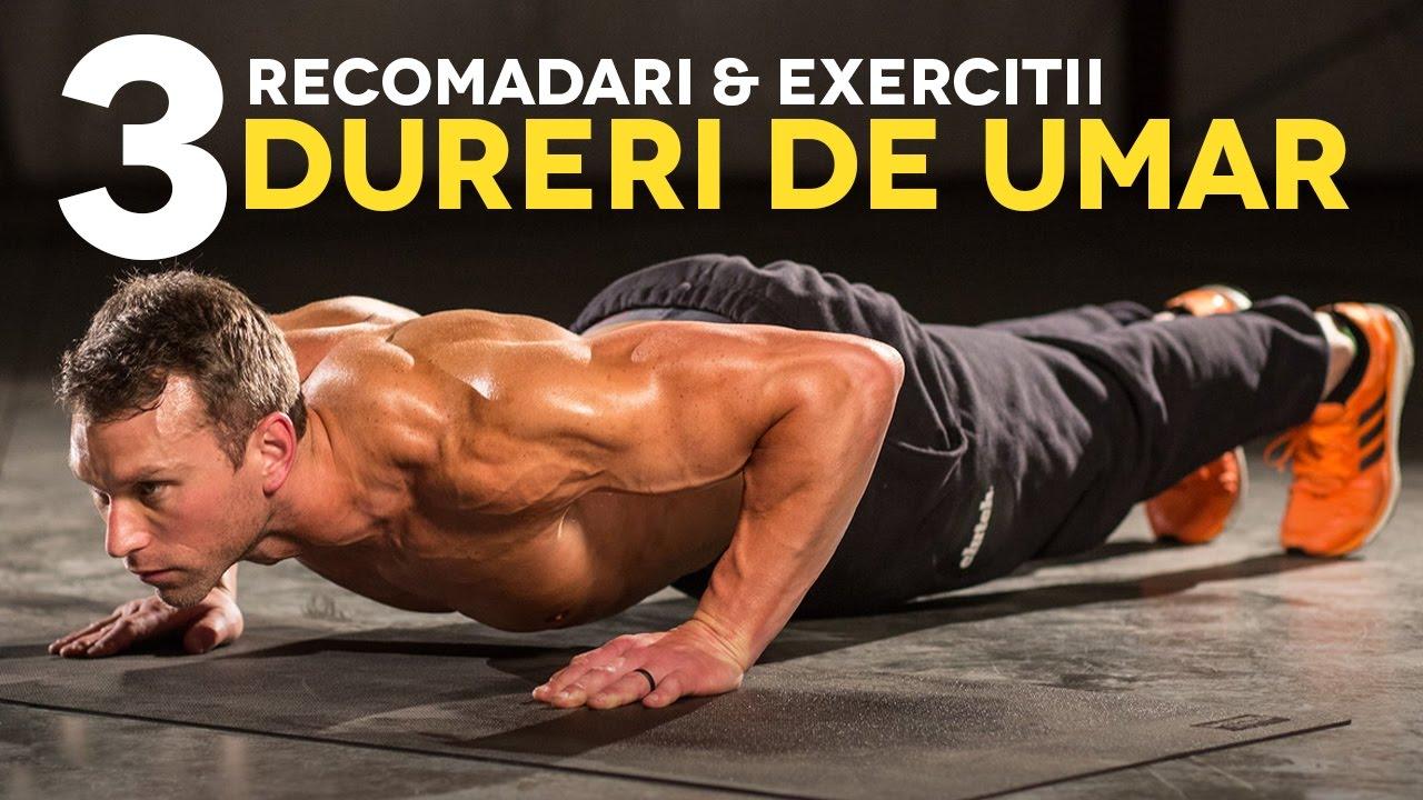 fizic exerciții pentru durerea articulației umărului